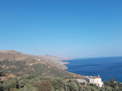 Photo for Countryside house overlooking the South Cretan Sea