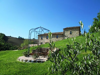 Photo for Peacefulness, nature, tranquillity at Cottage 'L`Aria' Le Marche, Italy