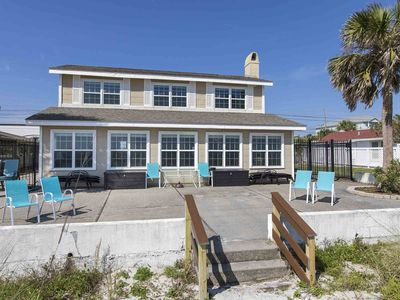 Photo for Private Beachfront Home! New Updates Throughout! Beach Views from Nearly Every Room