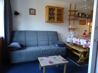 Photo for T2 28m ² FUNCTIONAL VERY WELL LOCATED SOUTH FACING 3 SPACE NIGHT