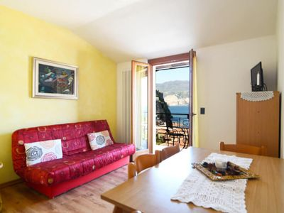 Photo for Holiday Apartment with Wi-Fi, Air Conditioning, Pool and Garden; Garage available; Pets allowed