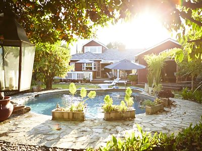Photo for Premium Pool SoCal Spa Retreat Orchard Private R&R LA Near Universal Hollywood