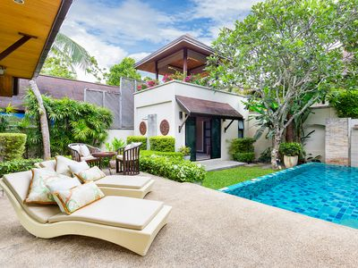 Photo for Cozy Guest Villa shared Pool Rawai & Nai Harn Beach Phuket
