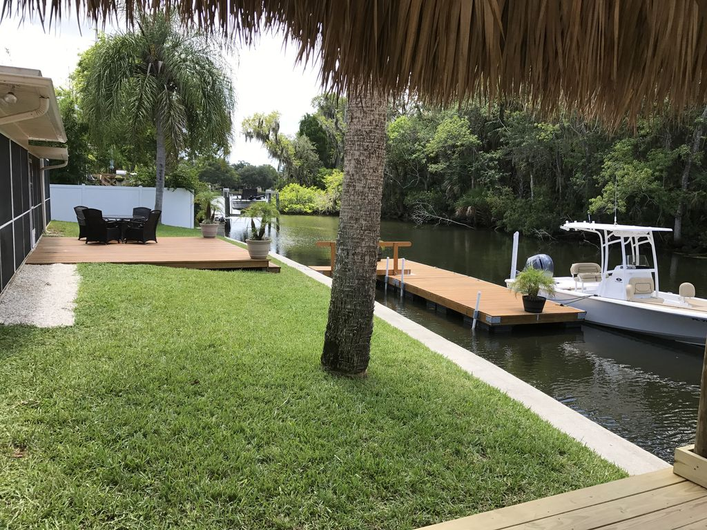 3/2 Canal Front Single Family Home with Pool, including private dock ...