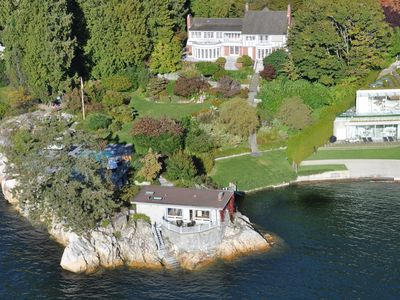 Photo for 1.7 Acre, 8000 Sq/Ft Luxury Waterfront Mansion Nestled In A Private Cove