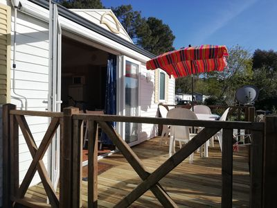Photo for Mobile home lodge cap ferret