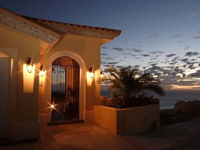 Photo for Luxury Oceanfront Villa, Montecristo Estates within Quivira Golf, Los Cabos