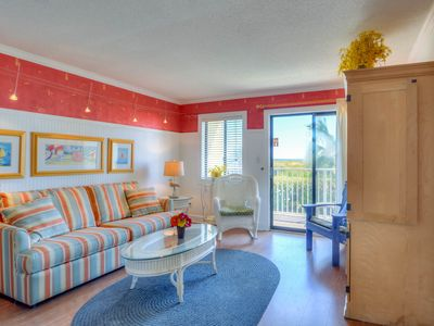 Photo for Roomy hotel suite near the beach and town features shared pool & hot tub!
