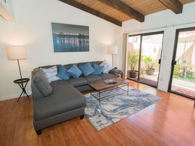 Photo for Fantastic location 1 Block from Main St. 2 blocks from the beach with AC.!