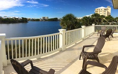 Photo for JULY 27 High-End Lakefront Carillon Beach Home with 1st Fl Bdm