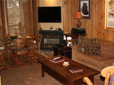 Photo for Cute Condo with Fireplace, near Shuttle Stop, walk to Peak 9!