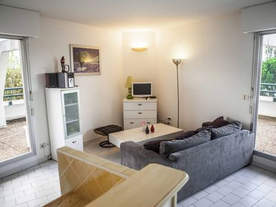 Photo for Three rooms with beautiful terrace and swimming pool golf area