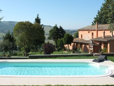 Photo for Apartment in San Casciano dei Bagni with Pool, Parking & Garden