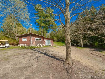 Photo for Private Cabin Nestled Within Protected Forest Overlooking Large Spring Fed Pond!