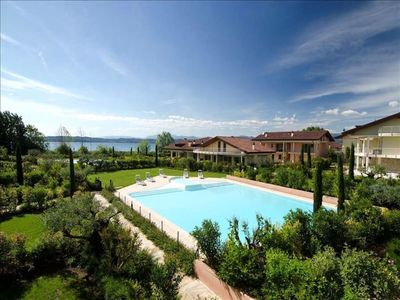 Photo for Residence in Sirmione with 3 bedrooms sleeps 6
