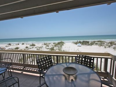 Photo for Beachfront Bliss, Free Wi-Fi & Cable, 3 TV's, Balcony Dining, Beach Chairs, BBQ, W/D-2 Pipers Nest