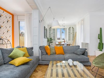 Photo for ⭐Huge Family Flat W/ 2 Terraces for 10 People⚜️ ¤