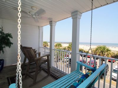 South Beach Ocean Condos - East - Unit 8 - Panoramic Oceanfront Views of Tybee