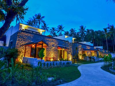 Photo for Immerse yourself in a trip to paradise at Villa Sujin! Situated by a picturesque beach, the villa of
