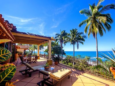 Photo for OCEAN FRONT VILLA IN AMAPAS BEACH ENJOY THE MOST BEAUTIFUL SUNSETS