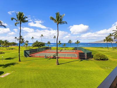Photo for Largest of the 2 bdrms at Maui Sunset, HUGE private view deck