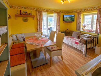 Photo for 3 rooms App. Kaiserblick 2 for 4 adults & 2 children up to 16 years - Romantik Aparthotel Sonnleitn ****