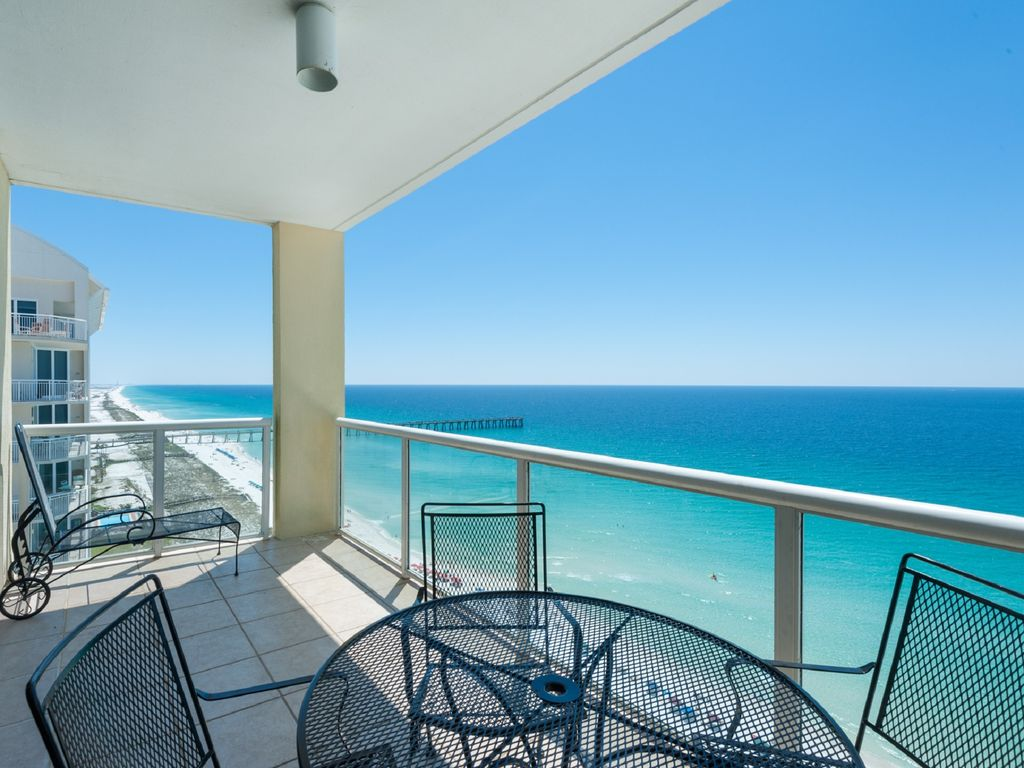 Navarre beach holiday condo amazing views from 17th floor for 100 floors 17th floor