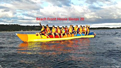 Banana Rafting and other activities listed