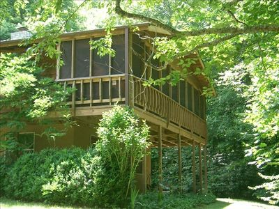 Photo for Appalachian Trail, Asheville, Rocky Fork, Family & Pet Friendly, Private Forest