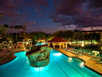 Photo for ORLANDO *MiniSuite* {VolcanoPool/Spa/Massage/Bar/Waterfall} STAR ISLAND RESORT