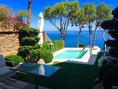 Photo for Villa with private pool, amazing sea views, peaceful and 5 mins  walk to beach