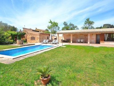 Photo for Els Olivers Beautiful Majorcan villa near the beach 138