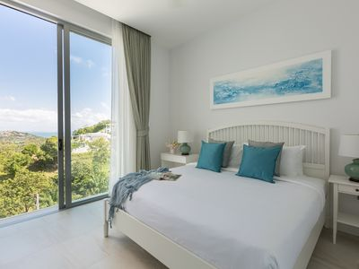 Photo for Residence 8 Suite 2, Two-bedroom, Roof Terrace, Sea-view, Shared Pool
