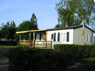 Photo for Camping Sun Océan *** - mobile home 8 people - 6/8 places