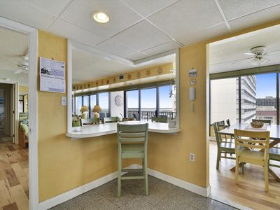 Photo for FREE DAILY ACTIVITIES!!! OCEAN & BAY VIEWS!! 2 Bedroom/2 Bath condo. Beautiful unit, done in light neutral decor