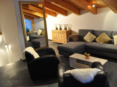 Photo for 3. 5 room apartment on the sunny side of Flims