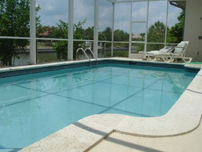 Solar-Heated Pool with Southern Exposure
