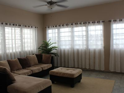 Photo for Three Bedroom House with Large Living Room sleeps 6-8 with Ocean and Mountain Vi