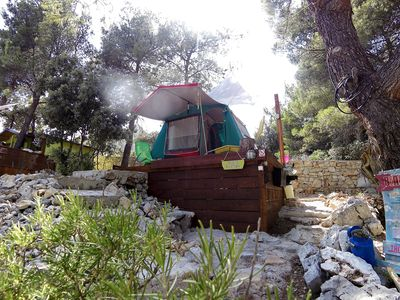Photo for ! 25% JULY DISCOUNT ! - LOVELY private full equipped CAMP few steps from OCEAN