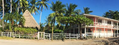 Photo for Beachfront tropical paradise house right on the water!
