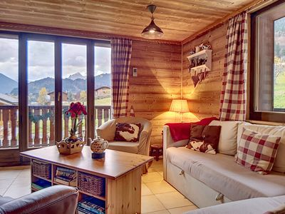 Photo for Apt In Traditional Chalet Building, Stunning Views Of The Surrounding Mountains