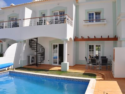 Photo for Beautiful Villa with fabulous views of Golf Course and own Pool