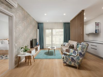 Photo for One Bedroom Apartment with Balcony-Athina Suites