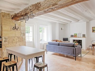 Photo for Cottage with swimming pool near Amboise