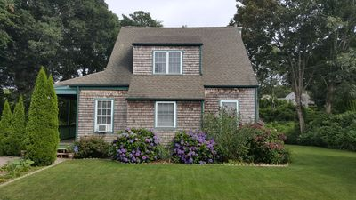 Photo for Cozy summer cottage, short walk to beach and historic Watch Hill village