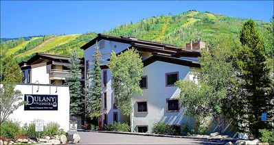 Exterior View of the Property and the Ski Resort