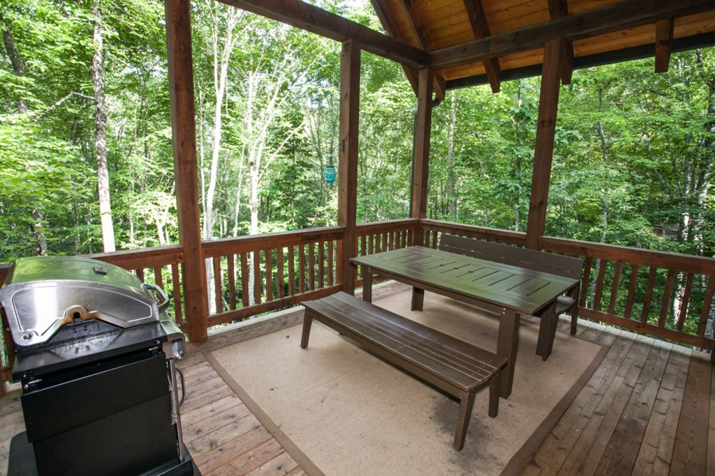 Look low winter rates wildflower cabin 3 relax in luxury for Winter cabin rentals north carolina