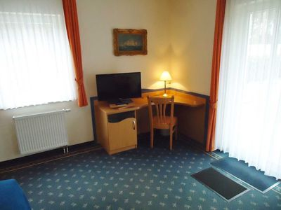 Photo for Double room with terrace - Hotel Dünenschloss