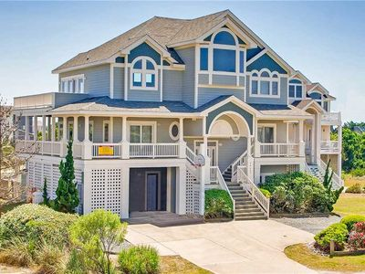 Relaxation Destination! Oceanview in Avon-Pool, Hot Tub, Game Room, Dog-Friendly