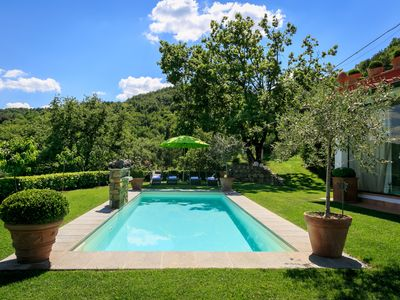 Photo for Villa Limonaia, 3 br villa with pool in panoramic hilltop location near Florence